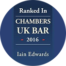 Chambers 2016: Iain Edwards