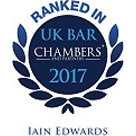 Chambers 2017: Iain Edwards